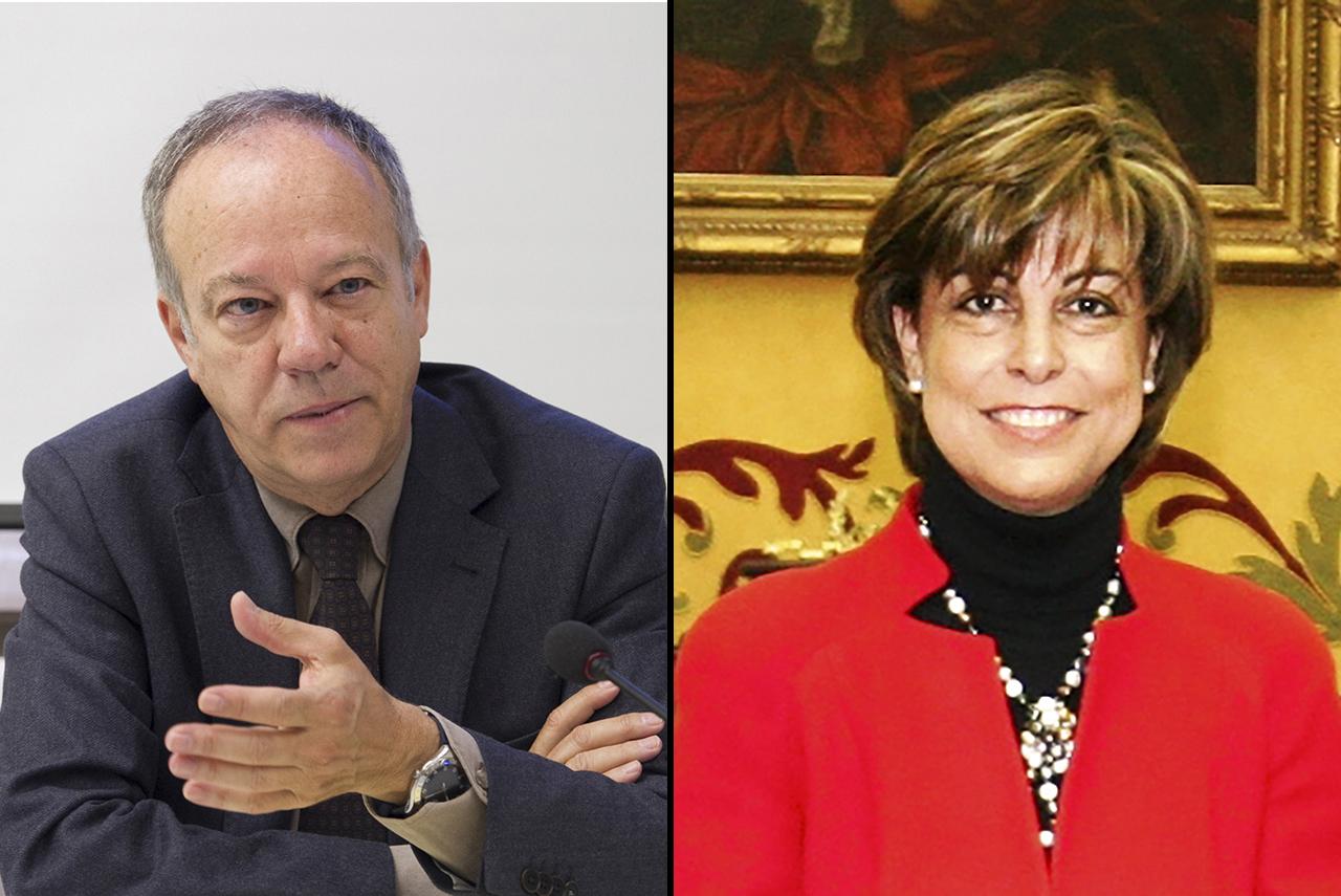 Ricardo Alonso e Irene Iglesias, reelegidos decanos de Derecho y Farmacia