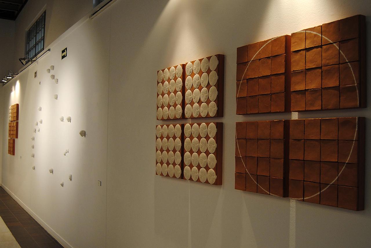 En la muestra se pueden ver más de cuarenta obras de un grupo de escultores, todos ellos profesores de la Complutense