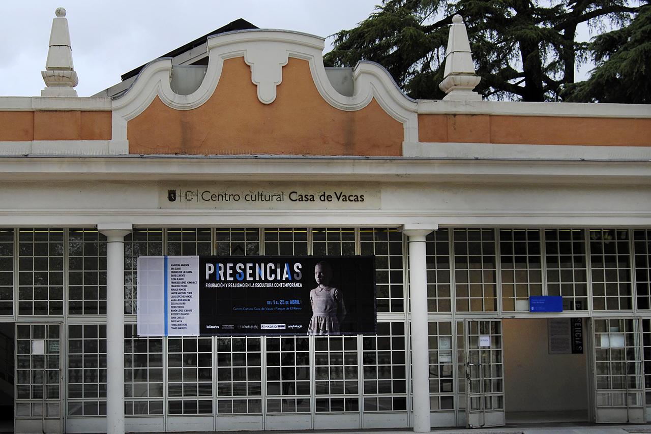 """Hasta el 25 de abril se puede visitar en el Centro Cultural Casa de Vacas, del Parque del Retiro, la exposición """"Presencias. Figuración y realismo en la escultura contemporánea"""""""