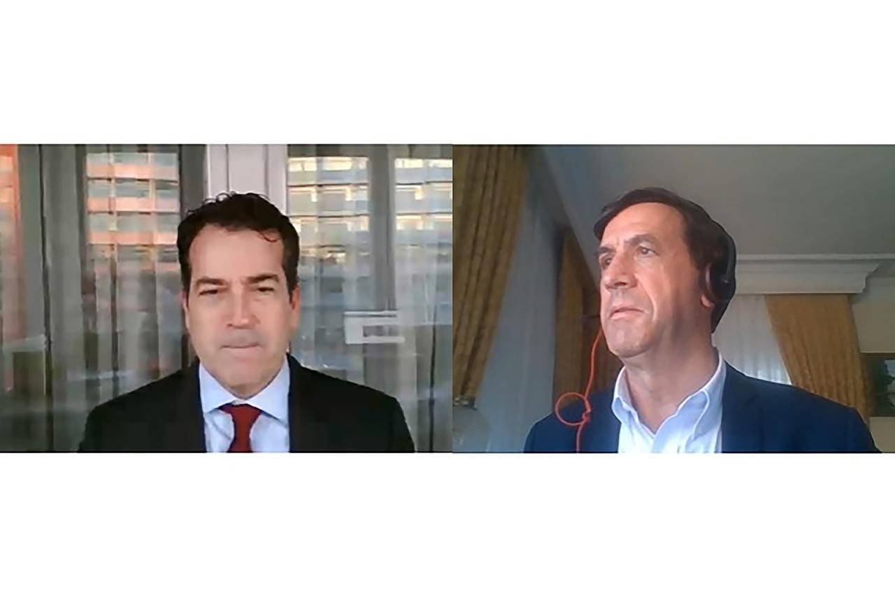 Fernando Serrano Antón y Ubaldo González de Frutos