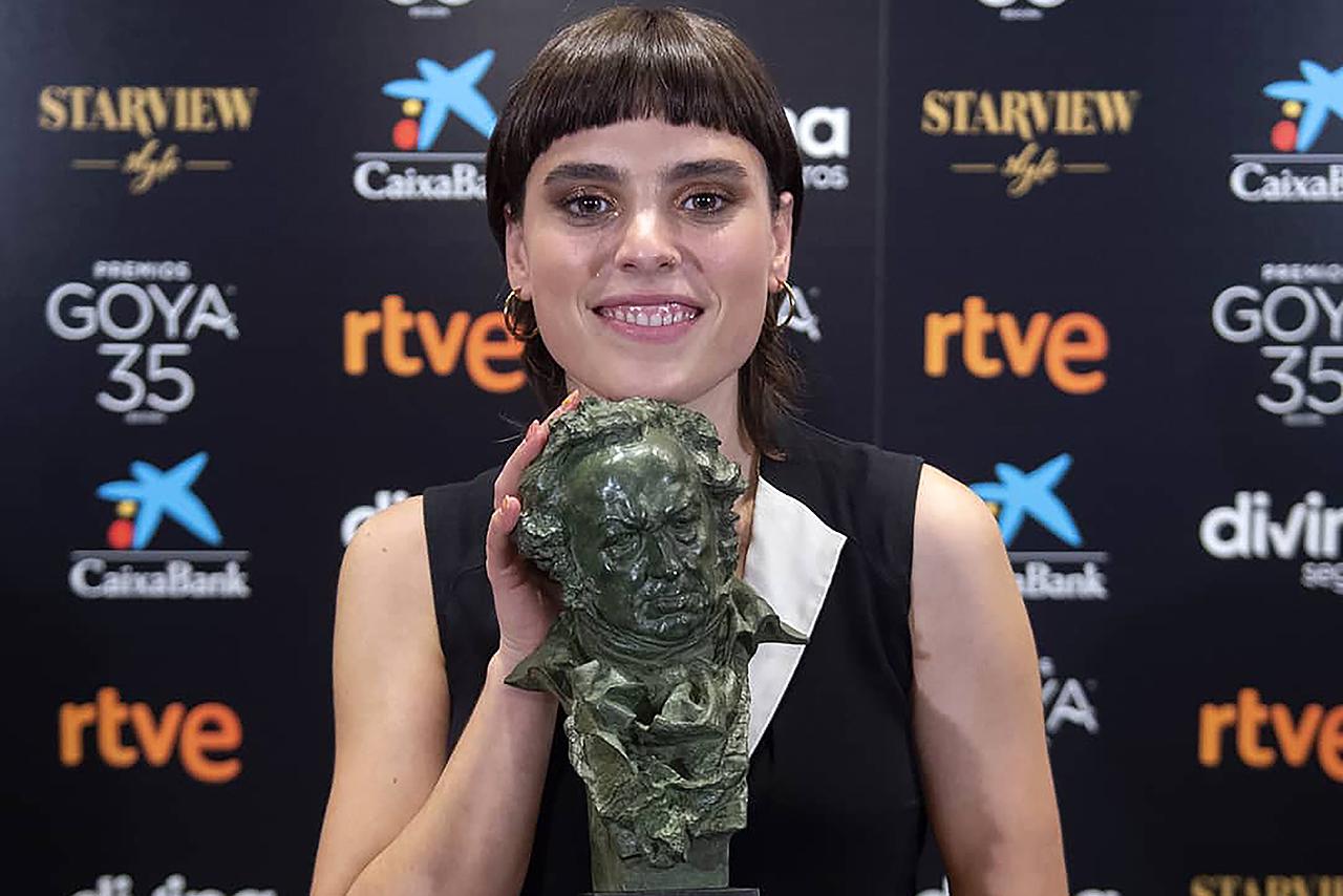 Jone Laspiur, Premio Goya 2021 a la Mejor Actriz Revelación