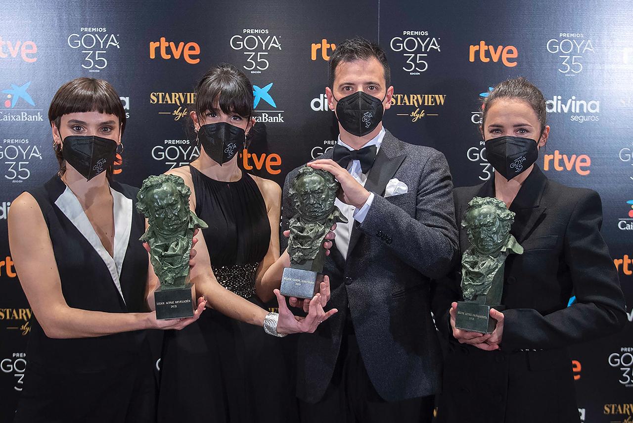"""La película """"Ane"""" ha ganado tres importantes premios Goya en la edición del año 2021"""