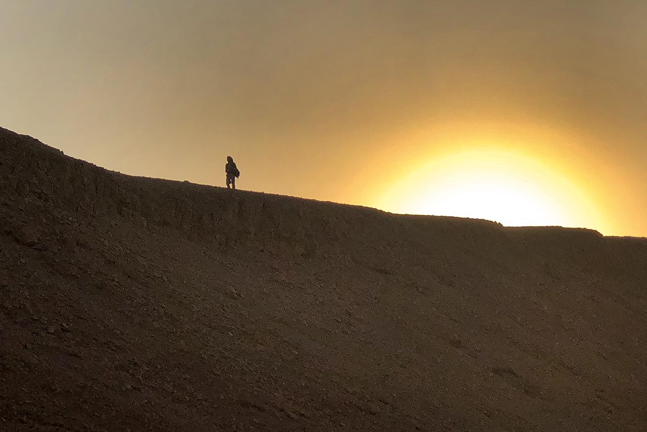Fotografía tomada durante la campaña 2020 del C2 Proyect Royal Cache Wadi Survey