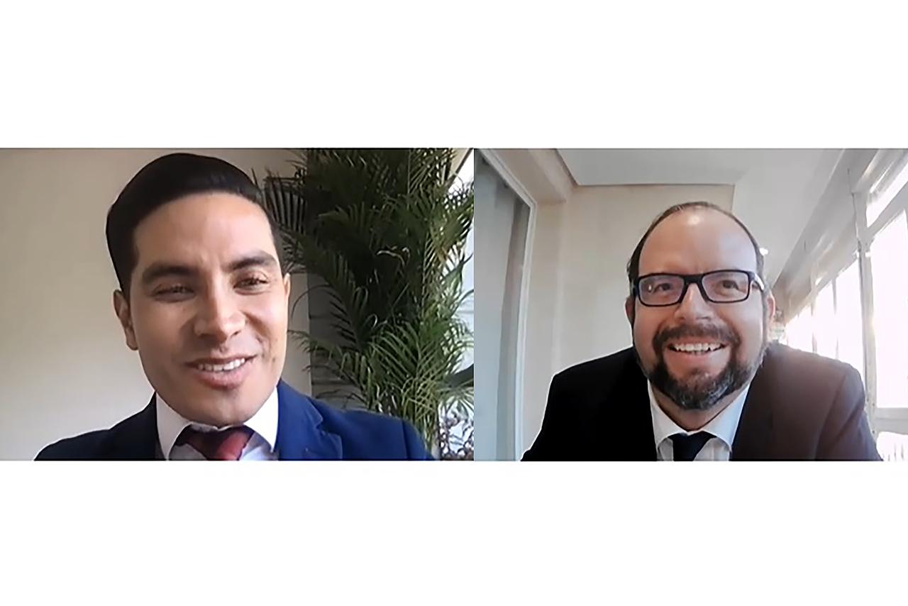 Israel Santos Flores y Ramón Bonell Colmenero