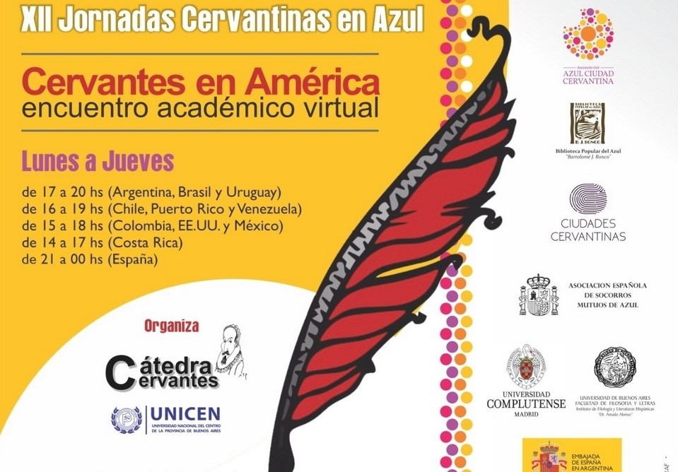 La Complutense apoya las XII Jornadas Cervantinas de Azul, Argentina