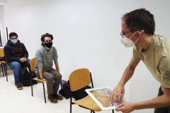 Actividad en la Facultad de Ciencias Físicas / M.Marín