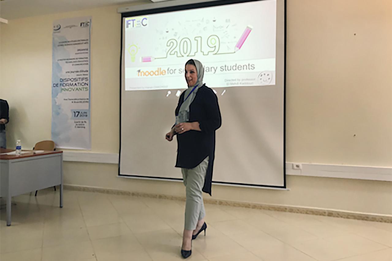 Una profesora de la Universidad Mohamed I de Oujda