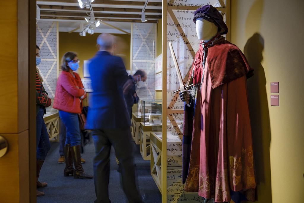 """Hasta el 28 de febrero, se puede visitar en el Museo Casa Natal de Cervantes, ubicado en Alcalá de Henares, la exposición """"Con descuido descuidado"""""""