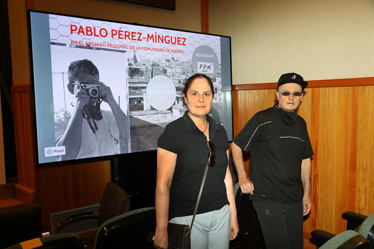 Rocío Pérez Mínguez y Miguel Trillo
