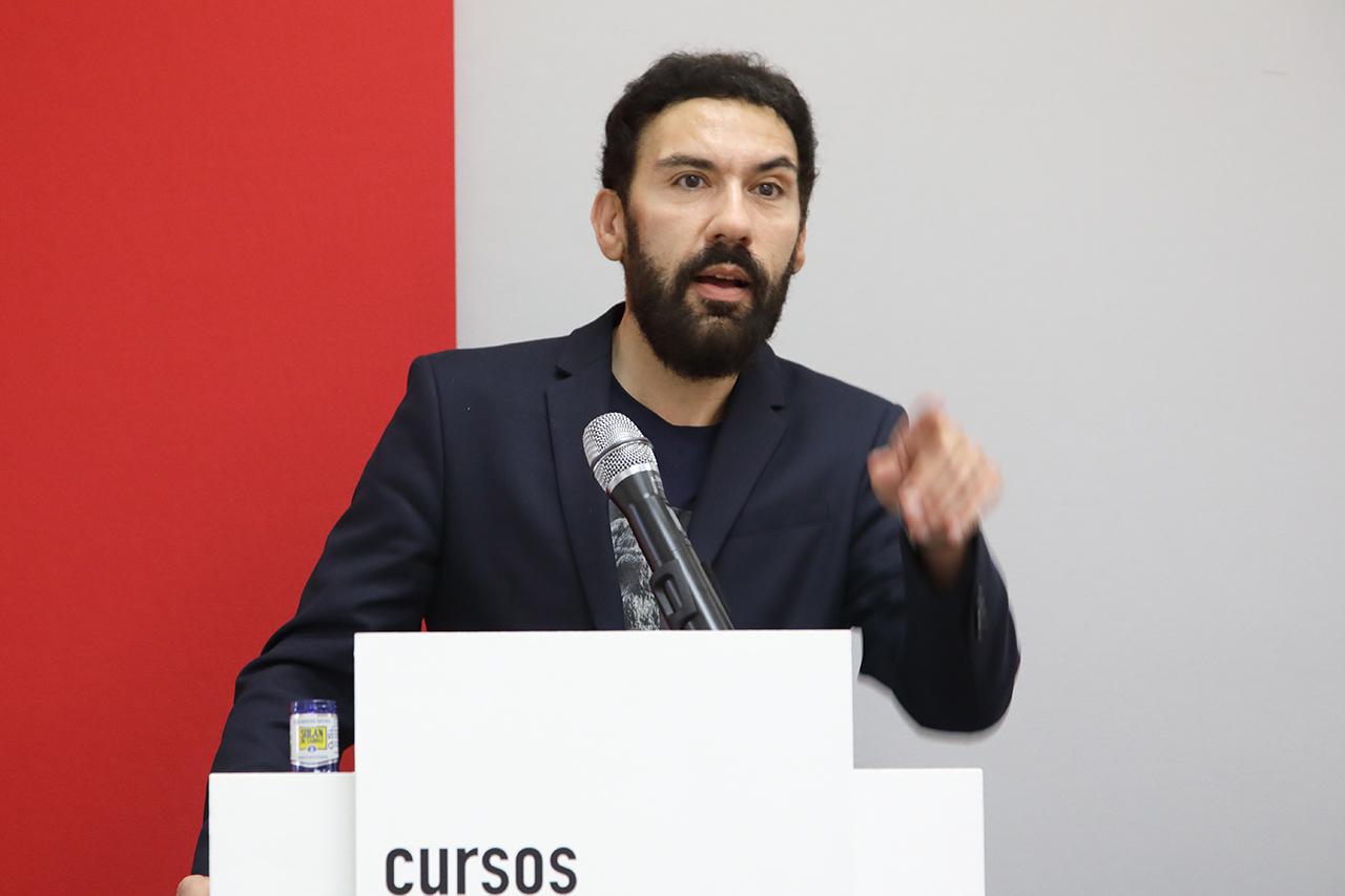 Francisco Prado-Vilar, investigador principal del Programa A. W. Mellon para el Pórtico de la Gloria (Real Colegio Complutense de Harvard)