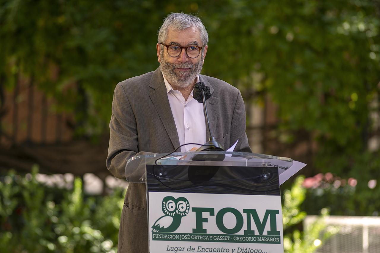 Antonio Muñoz Molina abre el curso académico del Instituto Universitario Ortega y Gasset