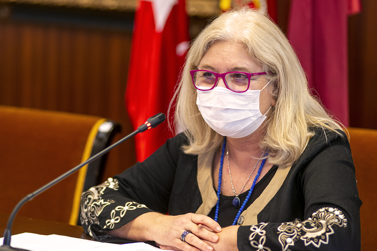 Isabel Tajahuerce Ángel, delegada del Rector para Igualdad