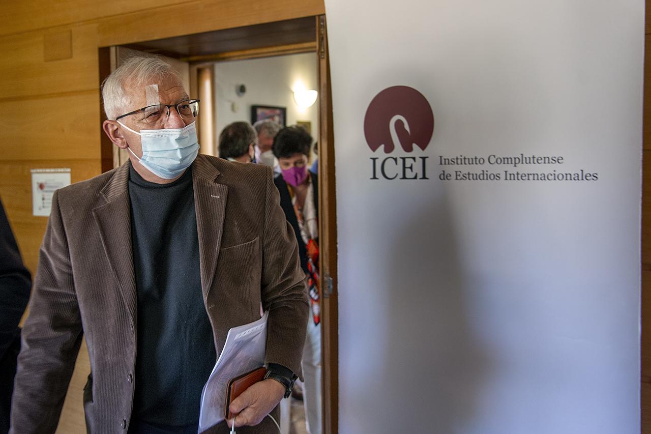 Borrell presenta, en el ICEI, su nuevo libro sobre la política exterior en tiempos de COVID