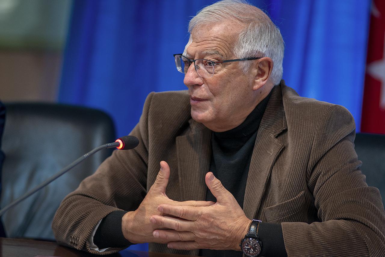 Josep Borrell, Alto Representante de la UE para Asuntos Exteriores y Política de Seguridad