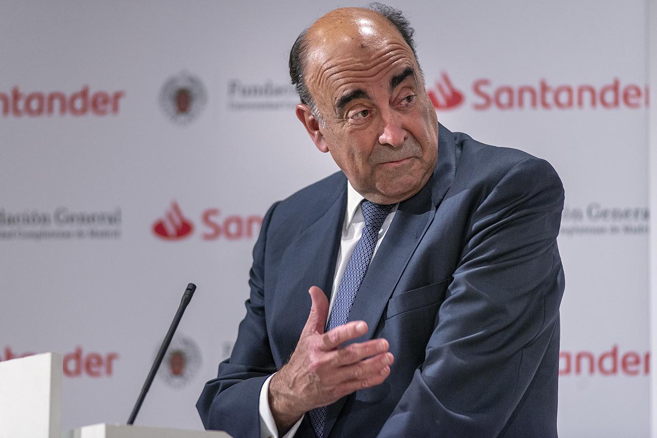 El presidente de Santander España, Luis Isasi Fernández de Bobadilla