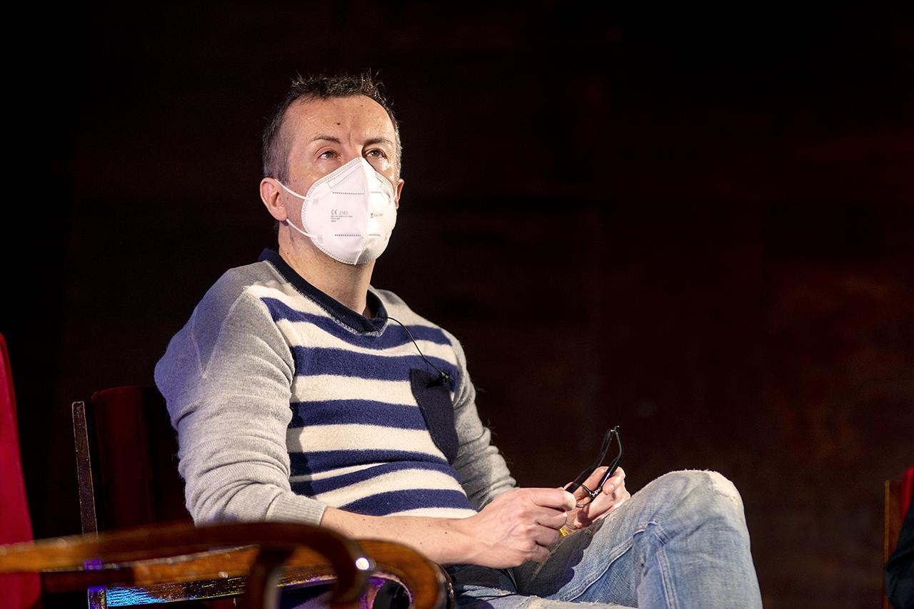El director teatral Miguel Ángel Lamata