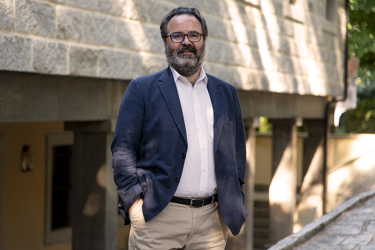 Lluis Montoliu, en el RCU María Cristina