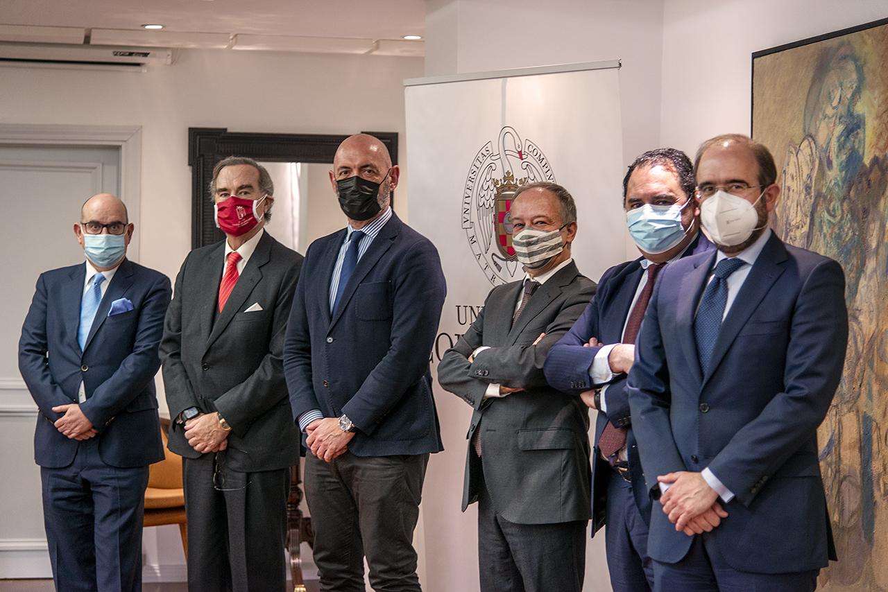 Raúl Ochoa, José María Alonso Puig, Joaquín Goyache, Ricardo Alonso, José Manuel Almudí y José María Coello de Portugal