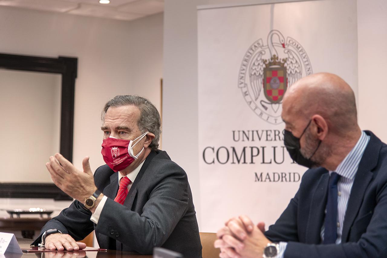 El decano del ICAM explica en qué consistirá el convenio firmado con la UCM