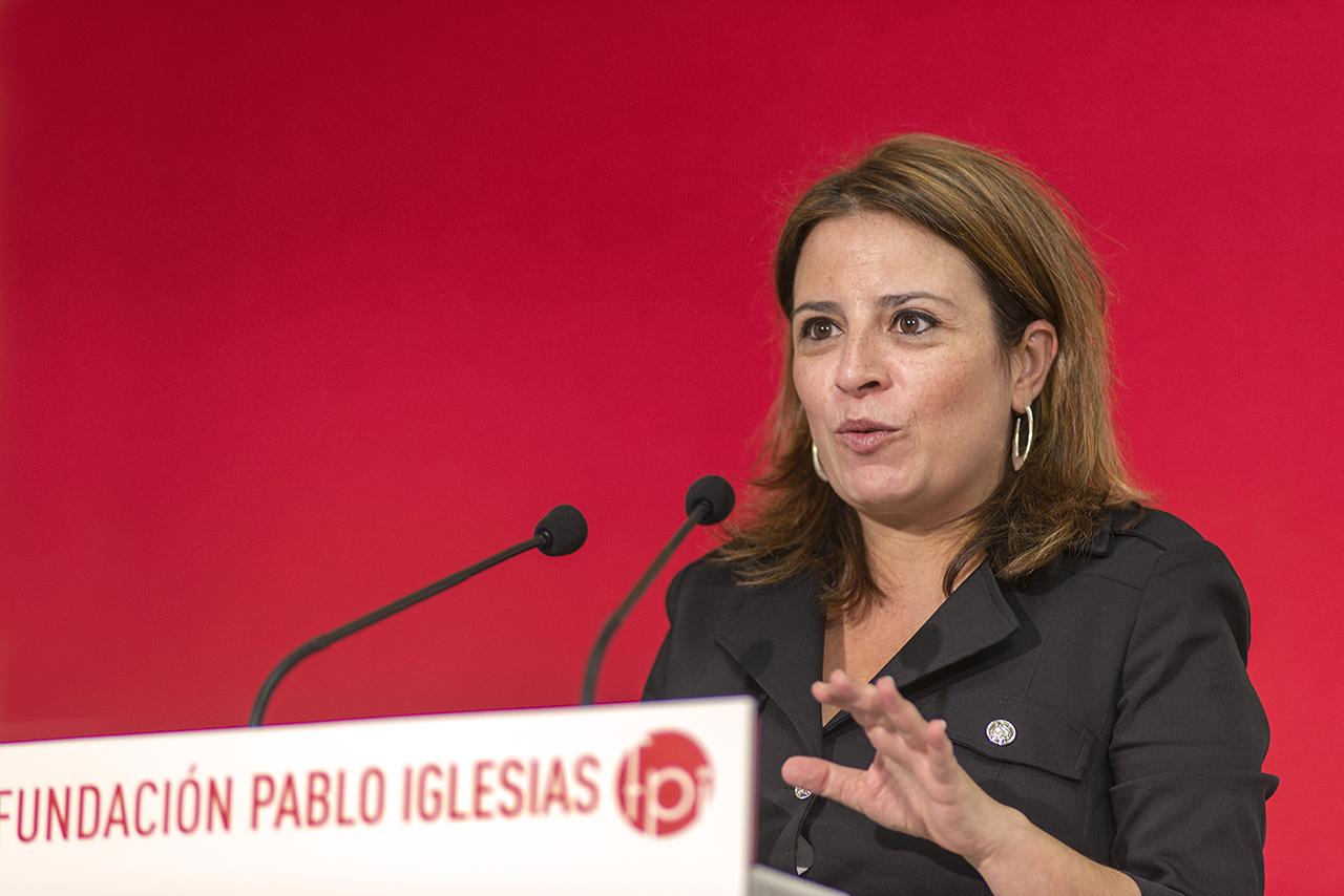 Adriana Lastra defiende una España cohesionada, verde, feminista y digital