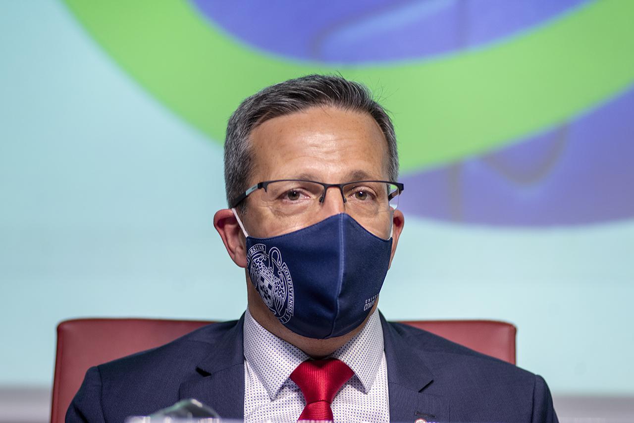 Jorge Clemente, decano de Ciencias de la Información