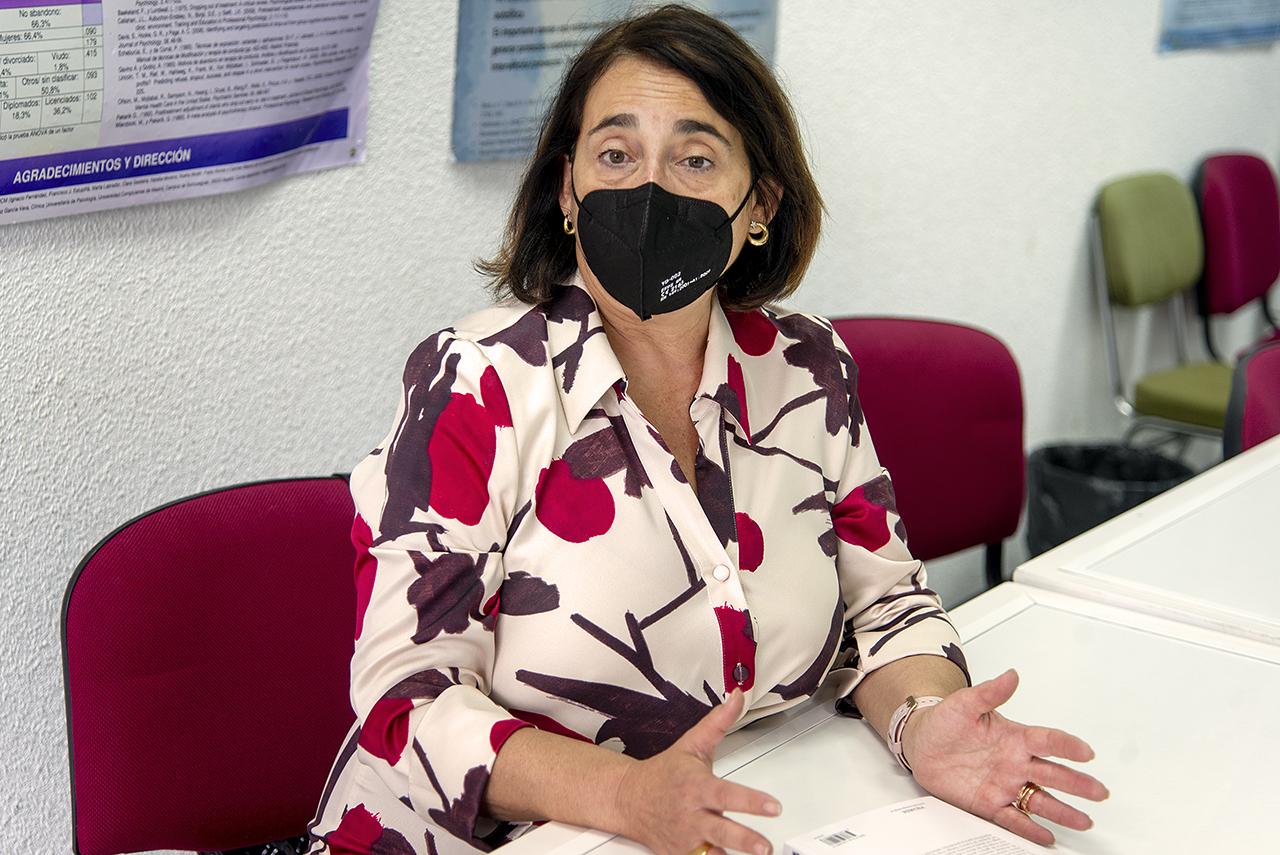 Cristina Larroy García, directora de la Clínica Universitaria de Psicología