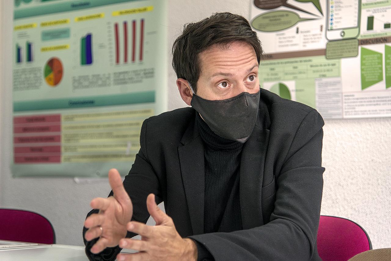 Francisco José Estupiñá, coordinador de PsiCall UCM