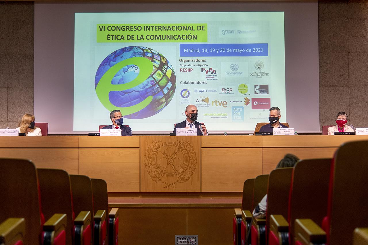 Ciencias de la Información organiza el VI Congreso Internacional de Ética de la Comunicación