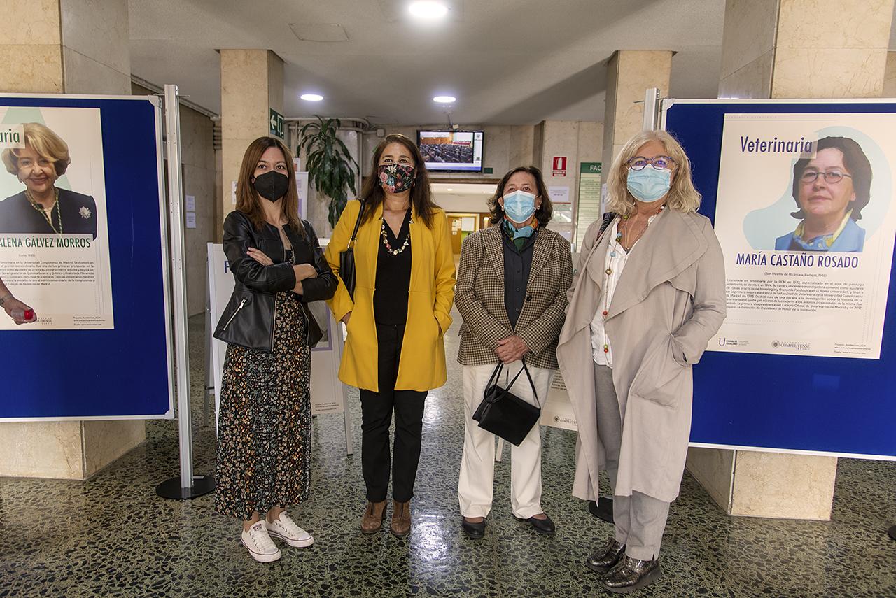 María Arias, Violeta Izquierdo, María Castaño e Isabel Tajahuerce