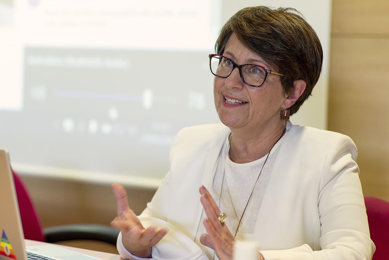 Mercedes García García, delegada del rector para Diversidad e Inclusión