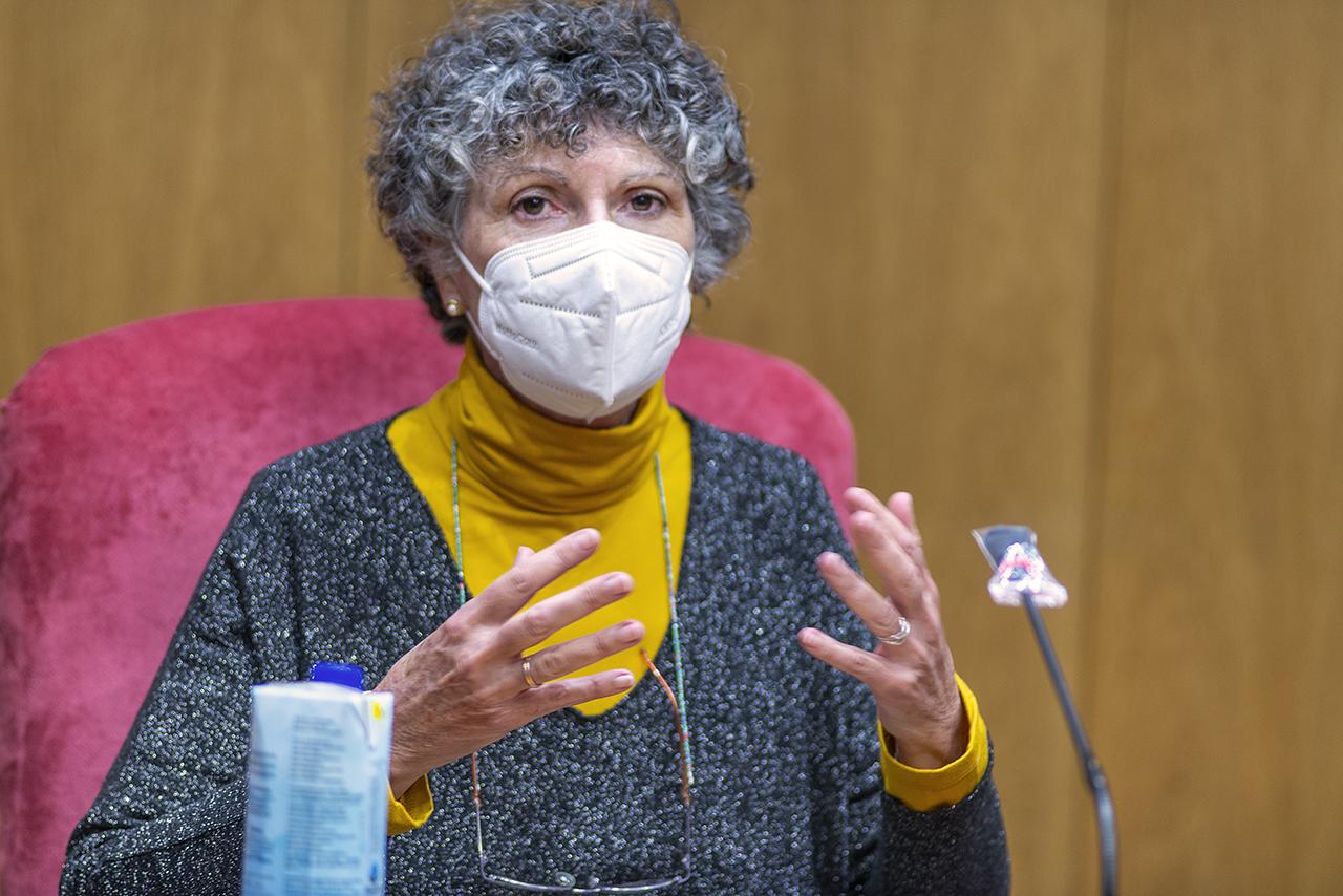 Esperanza Gómez-Lucía, catedrática de Sanidad Animal y experta en virología