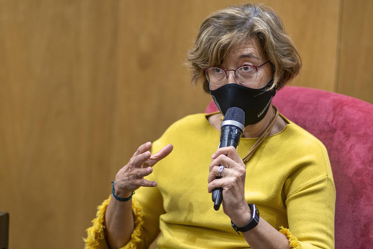 Mayte Villalba, catedrática del Departamento de Bioquímica y Biología Molecular