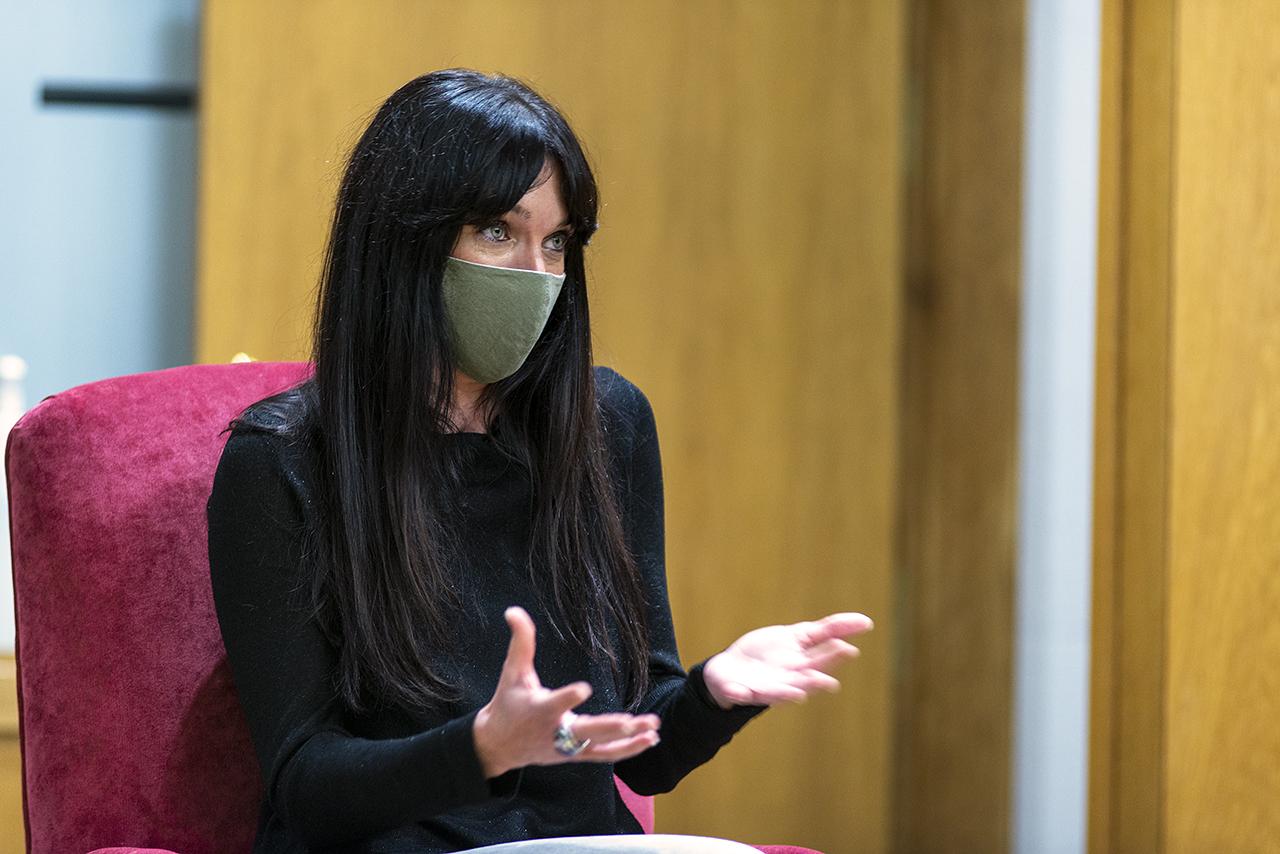 Adeline Marcos, periodista de la Agencia SINC