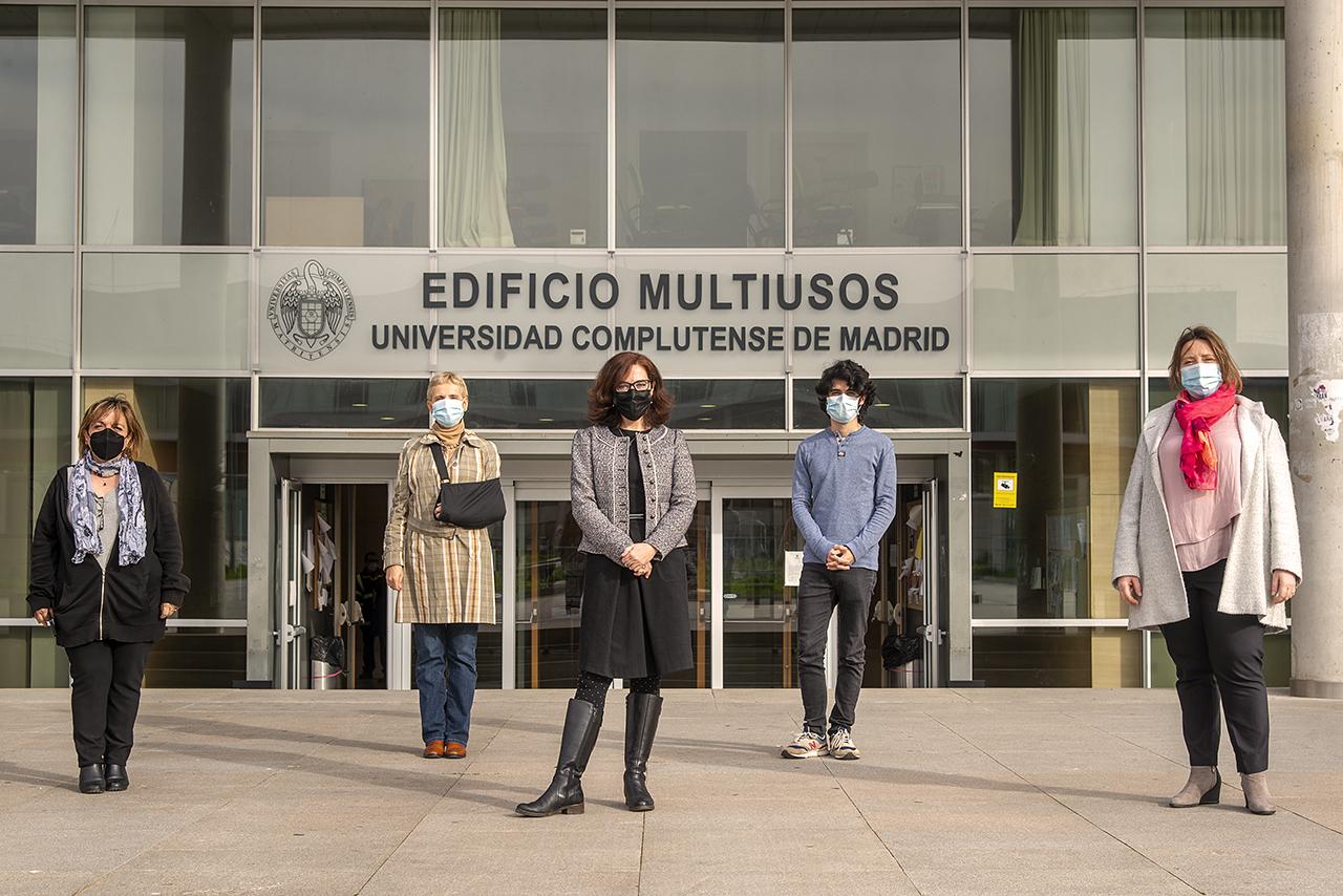 Concha García Campos, Almudena Martínez-Cava, Carmen Maíz Arévalo, Jaime García Herráiz y Laurence Rouanne