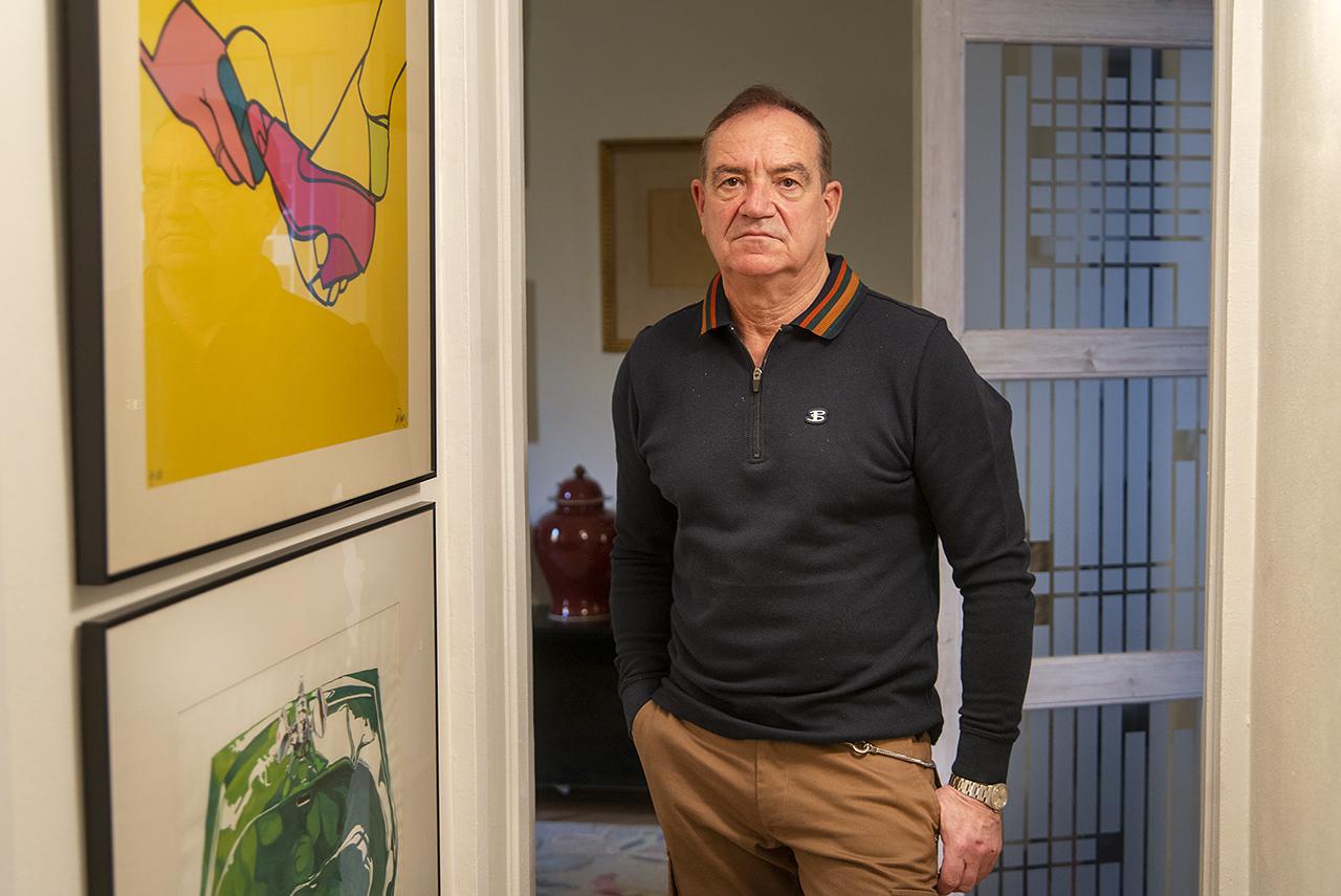 El profesor Horacio Romero