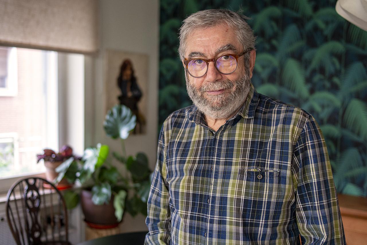 El escritor Antonio Muñoz Molina