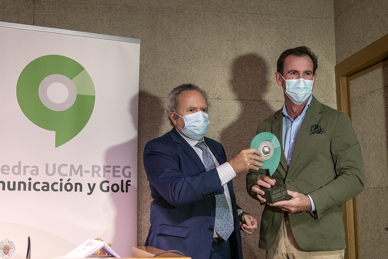 Gonzalo Fernández Castaño pidió que Jon Rahm le suceda en el palmarés del premio