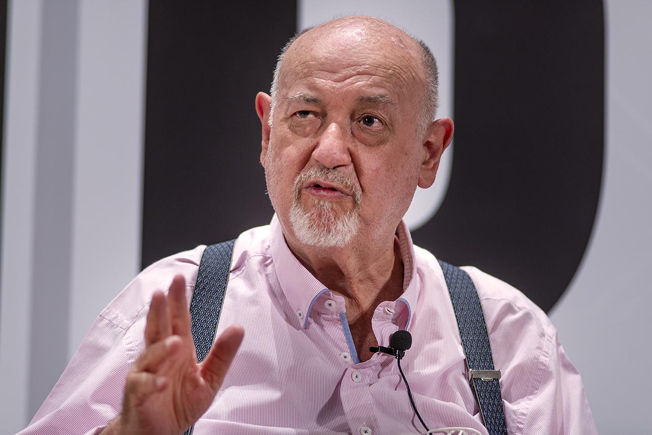 El escritor Juan Eslava Galán
