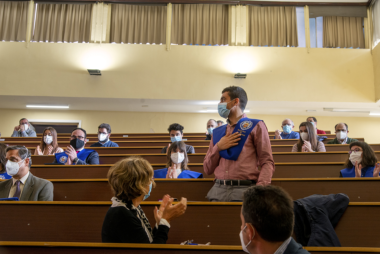 Químicas celebra un emotivo acto académico de San Alberto Magno