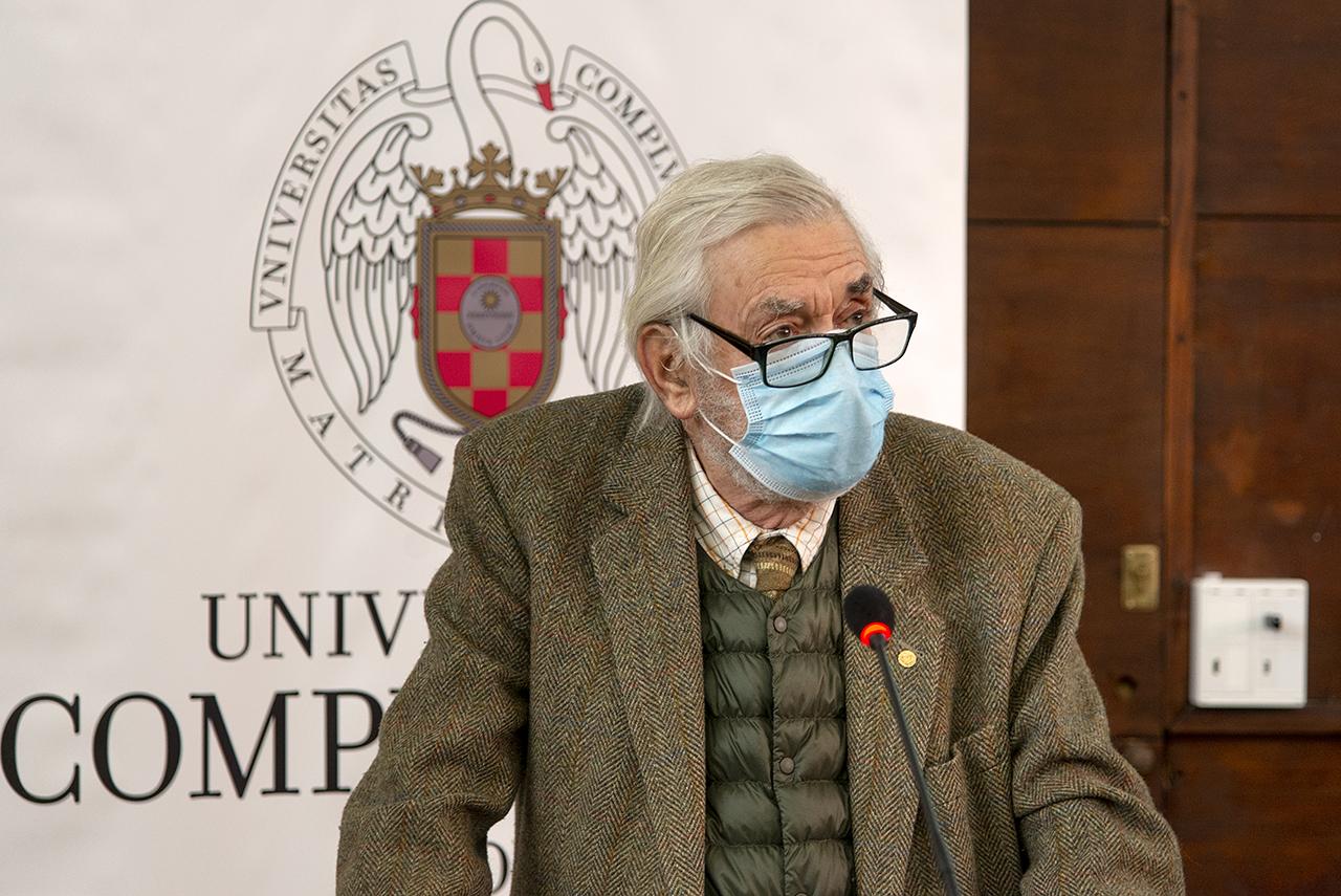 El químico Miguel Ángel Alario Franco recordó a Emilio Morán