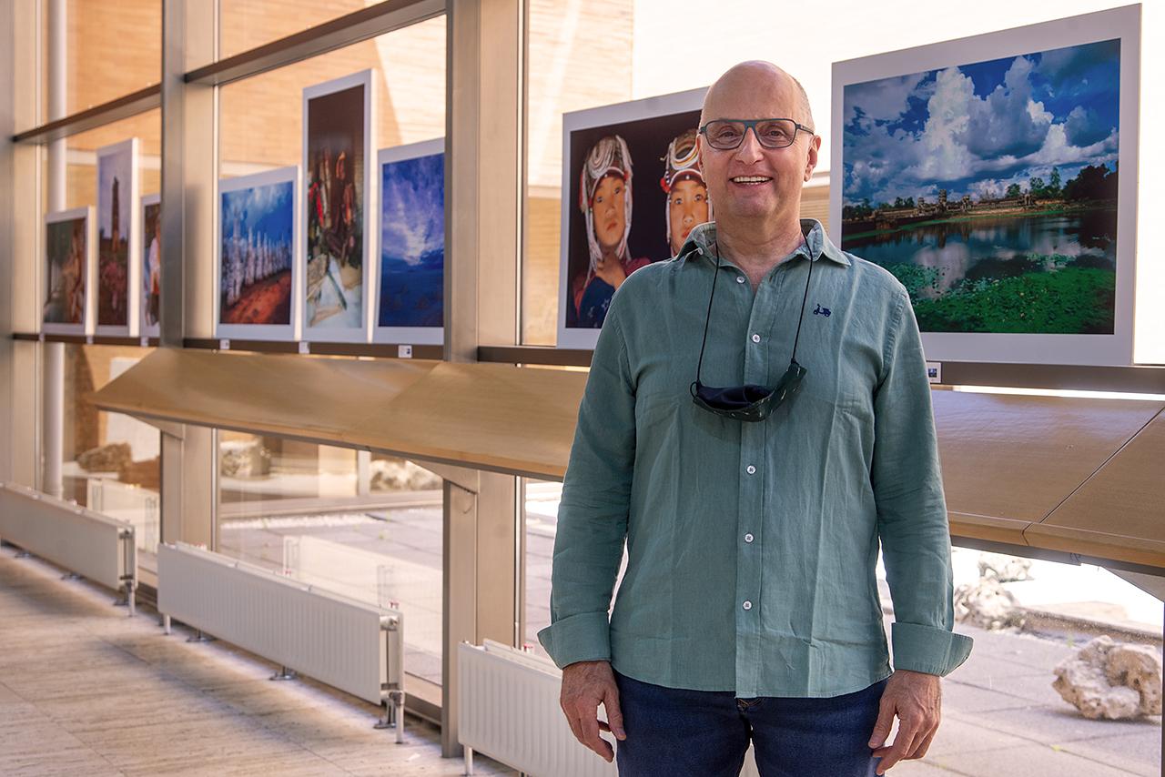 El autor de las fotografías, Juanjo Carrato, es PAS de la UCM