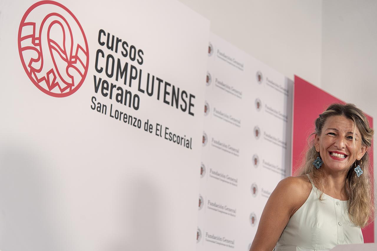 Díaz, durante la rueda de prensa