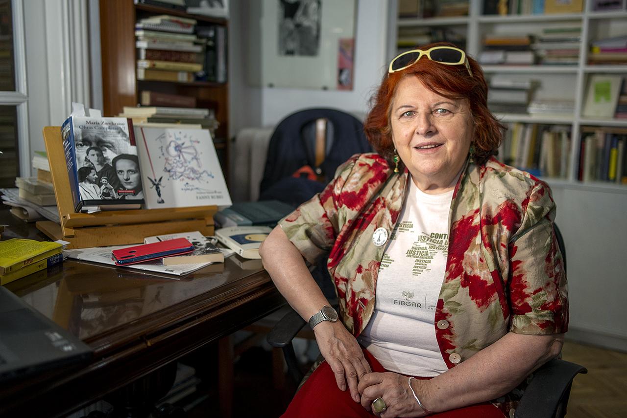 Fanny Rubio, catedrática emérita de Literatura Española en la UCM