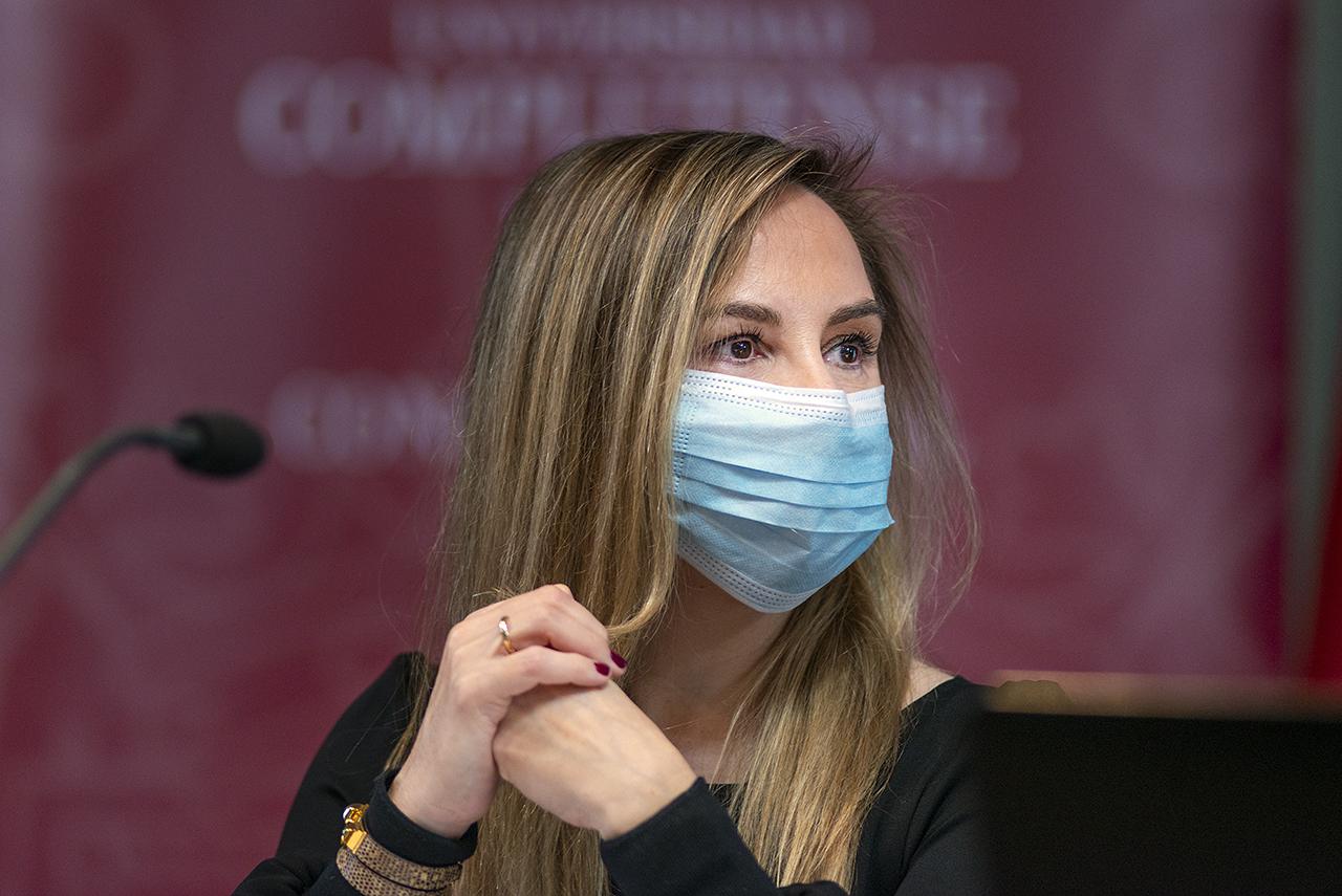 Concepción García, vicerrectora de Empleabilildad y Emprendimiento
