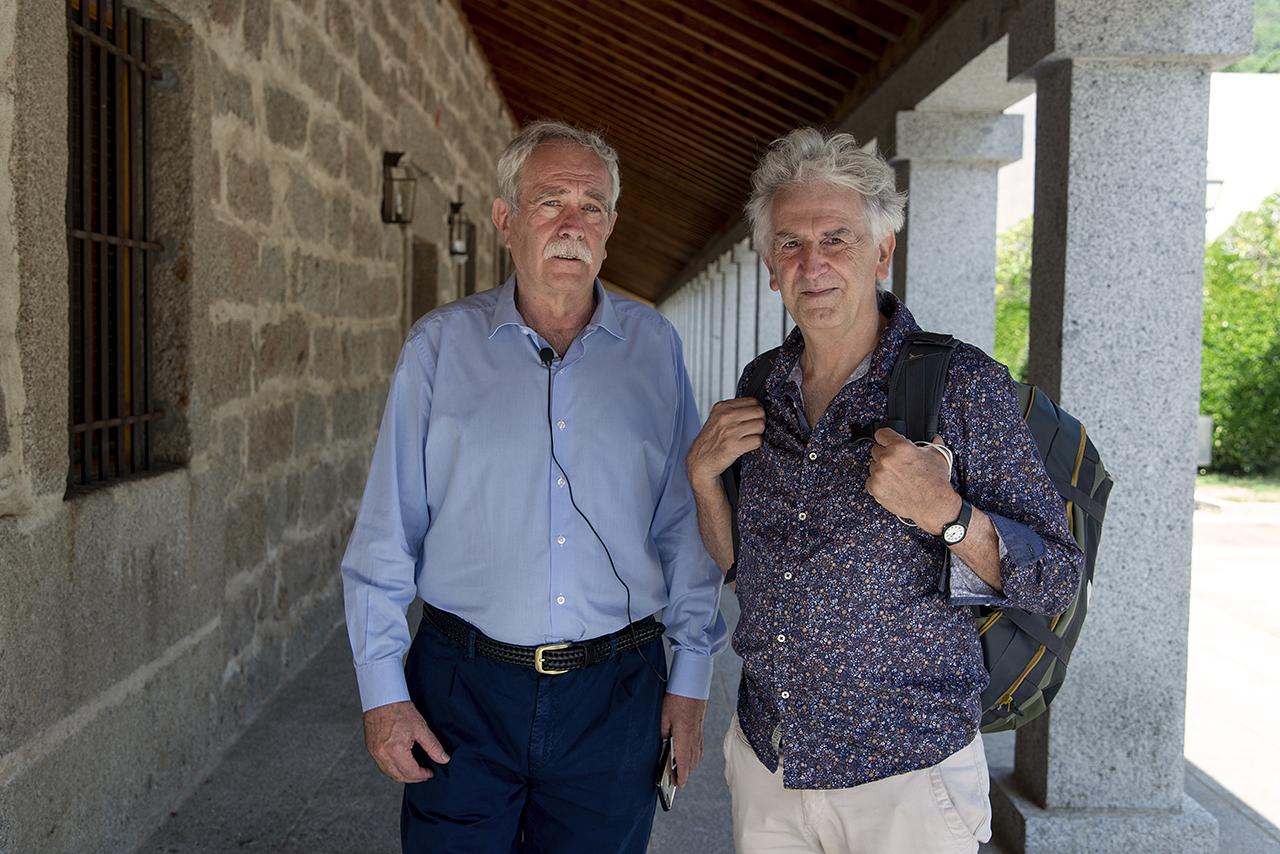 Antonio Pérez Henares y Juan Luis Arsuaga