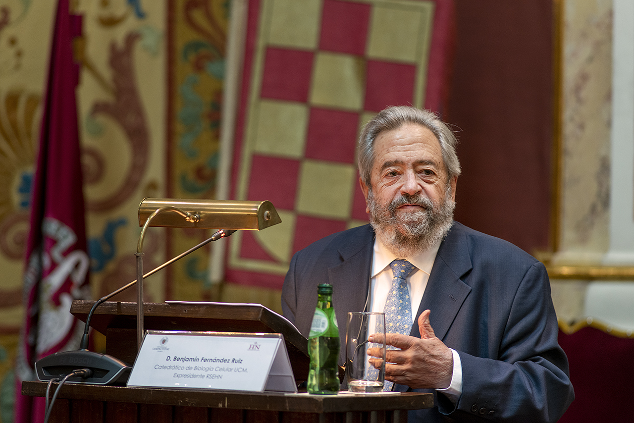 El catedrático de Biología Celular, Benjamín Fernández Ruiz
