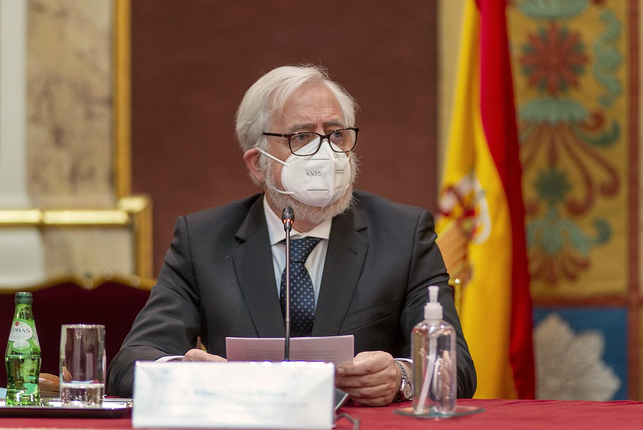 Alberto Gomis Blanco, presidente de la RSEHN