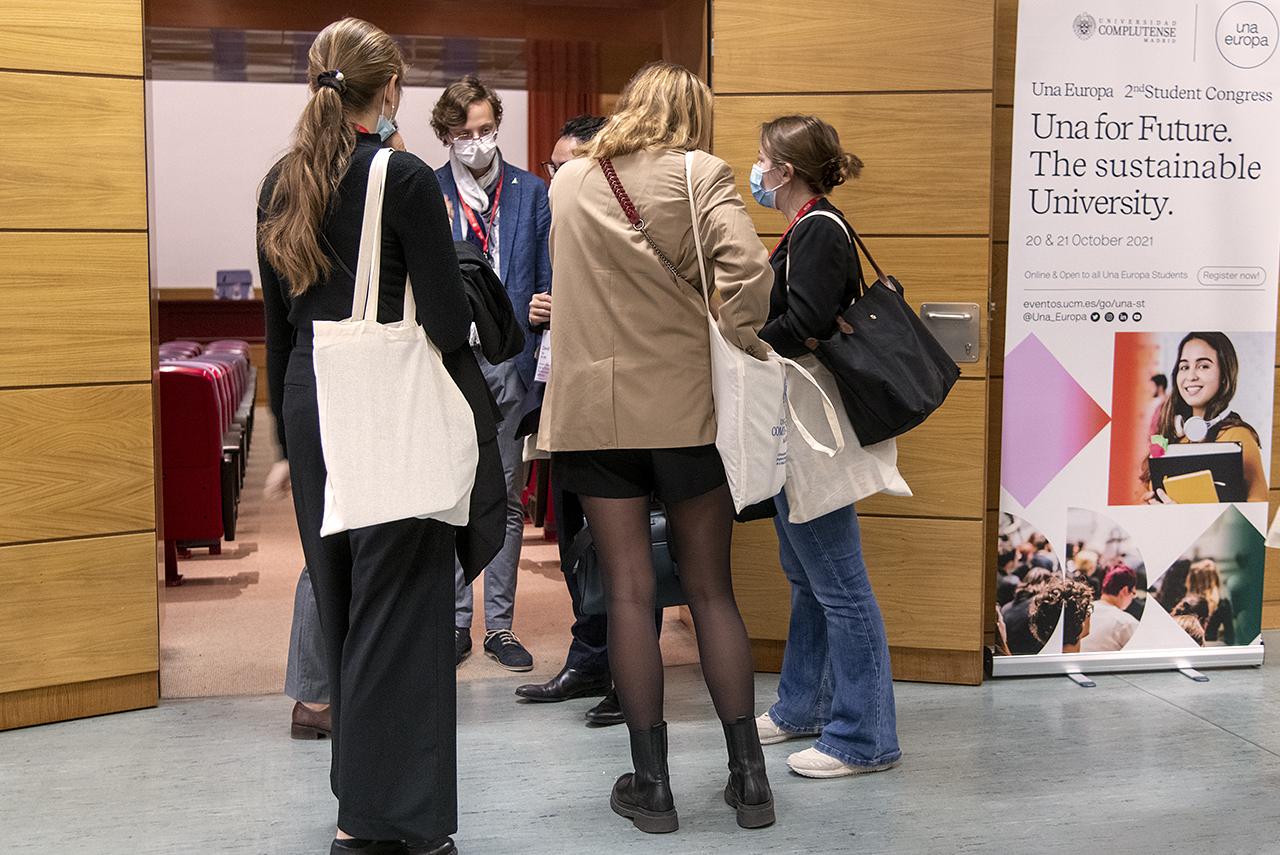 La secretaria general de Una Europa considera que esta iniciativa no tendría ningún sentido si no fuera por los estudiantes