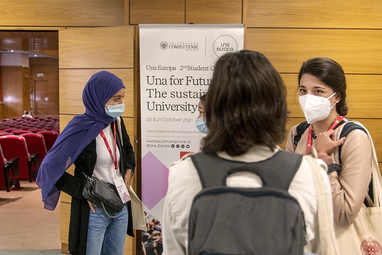 Los organizadores del congreso han sido los propios estudiantes de la alianza Una Europa