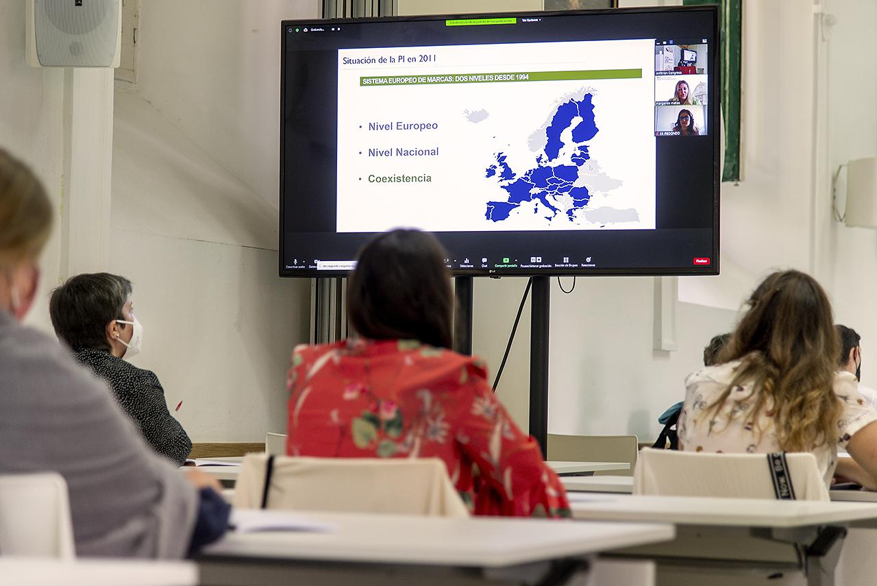 Intervención on line en el curso sobre la europeización del sistema de marcas
